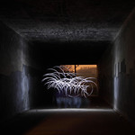 Pontefract Glasshoughton Underpass Wire Wool Session