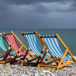 Four Deckchairs, Beer beach
