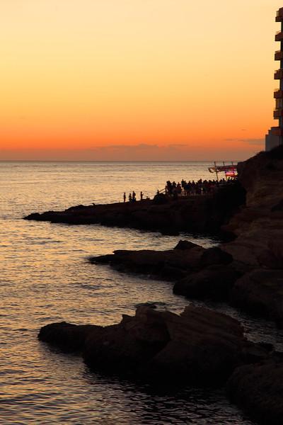 Overlooking San Antoni de Portmany, Ibiza