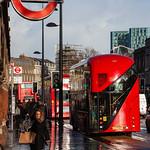 London - St Pancras Underground & Bus Stop, 8-2-2014 (IMG_8202) 4k