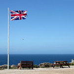 This Is Britain. Union Flag at Land's End