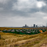 South Gare Huts & Redcar Steelworks, 4-10-2015 (IMG_0788) 4k
