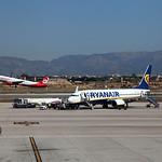 EI-EBV & at Palma Airport