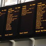 Kings Cross Station Departure Board