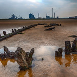 South Gare Beach Wreck, Redcar, 4-10-2015 (IMG_0865) HDR Efex Pro 2 - Deep 1 4k
