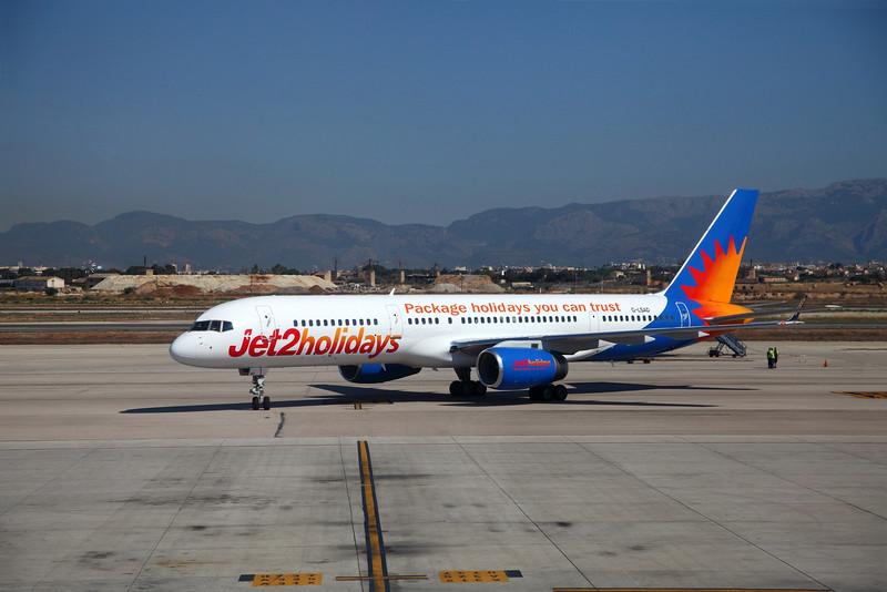G-LSAD at Palma Airport