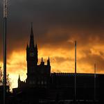 St. Pancras Winter Sunset