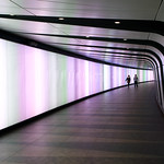 Kings Cross St Pancras Light Tunnel