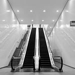 St Pancras Square Escalator