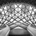 Kings Cross Station Concourse Roof, 10-10-2015 (IMG_0963) Nik SEP2 Fine Art (HK) 4k