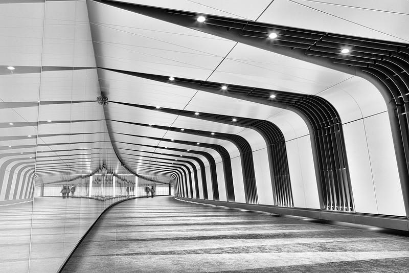 King's Cross St. Pancras Light Tunnel