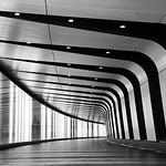 """Stripey Tunnel"", King's Cross St. Pancras Light Tunnel"