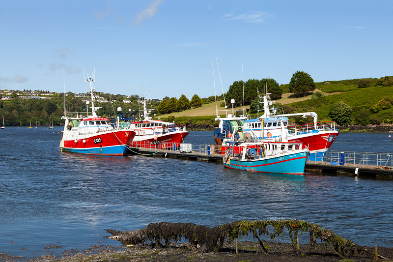 Fishing Boats at Kinsale Harbour, 5-7-2015 (IMG_9100) 4k