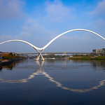 Infinity Bridge, Stockton-on-Tees, 4-10-2015 (IMG_0491) 4k