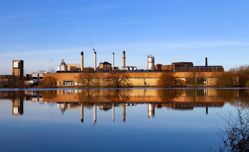 John Smith's Tadcaster Brewery - Floods 2015