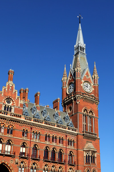 St Pancras Hotel Clock Tower