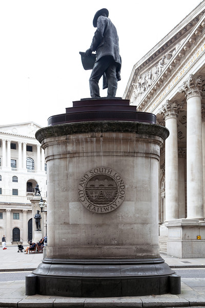 Statue of James Henry Greathead, London, 10-10-2015 (IMG_1251) 4k