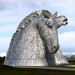 The Kelpies, (At Lunchtime)
