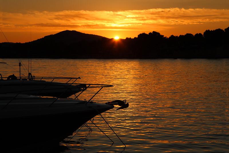 Son Jordi Harbour Sunset