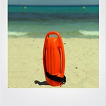 Life float, Cal Millor Beach