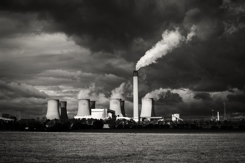 Eggborough Power Station, Black Sky