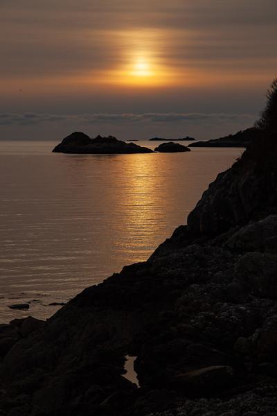 Loch nan Uamh Sunset