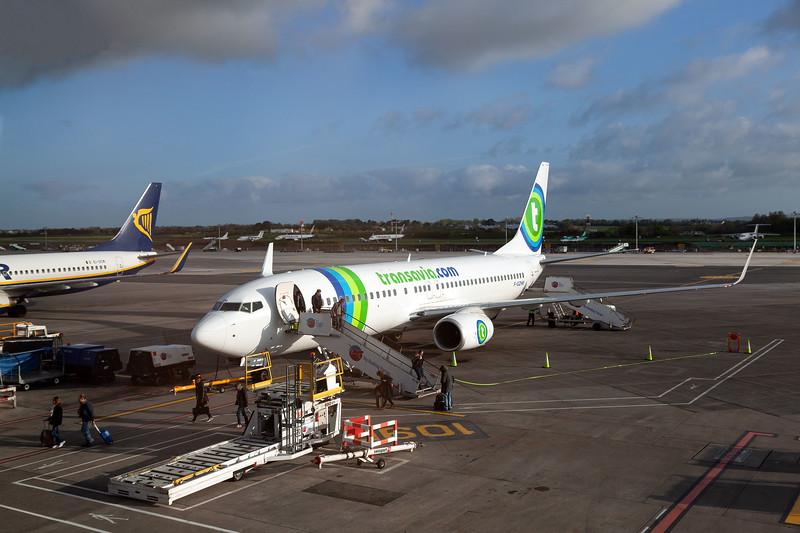 F-GZHM at Dublin Airport