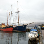 Vital Spark & Arctic Penguin at Inveraray