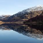 Loch Eilt near Ranochan - Creag Bhan & Creag Ghobhar