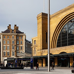 Kings Cross Station Frontage and Great Northern Hotel