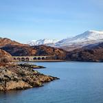 Loch nan Uamh Viduct & Cruach Doir' an Raoigh & Beinn Charorach