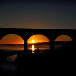 Loch nan Uamh Viaduct Sunset