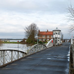 Cawood Swing Bridge, Floods