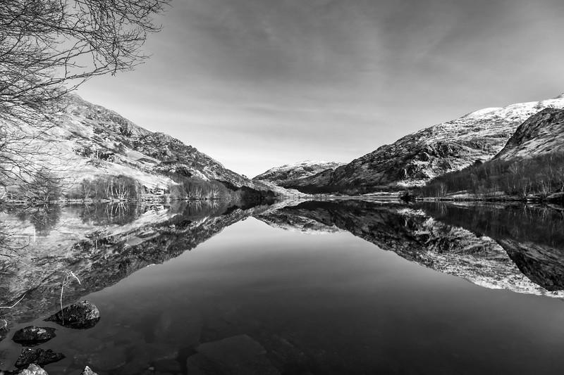 Loch Eilt near Ranochan - Coille Chreag, Creag Bhan & Creag Ghobhar