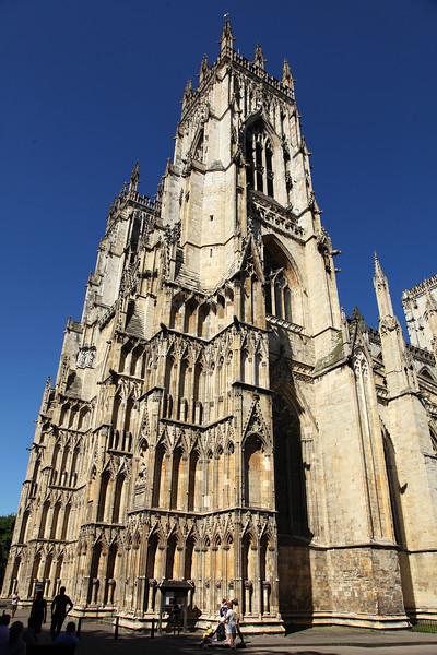 York Minster Under A Clear Blue Sky