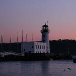 Scarborough Lighthouse at Dusk