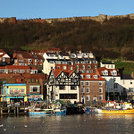 Scarborough Harbour and Castle Walls