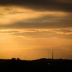 Emley Moor From Grimethorpe at Sunset