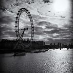 London Eye Sillhouette