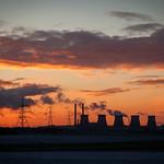 Ferrybridge Power Station from Beal
