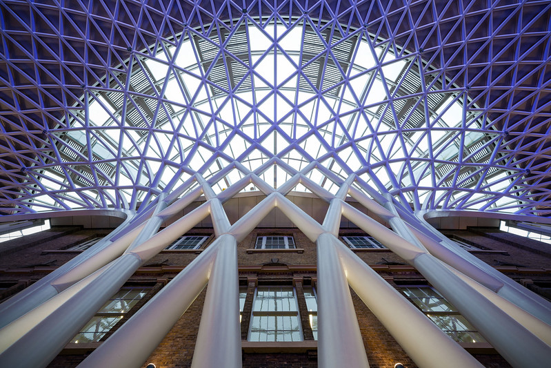 Kings Cross Station Concourse Roof