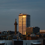 Grey's Monument, Bewick Court & Pearl Building, 11-4-2019 (3R0A5578) 4k