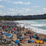 Fistral Beach Busyness, 12-8-2019 (IMG_1013) 4k
