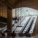 Canary Wharf Station Main Exit, 13-4-2019 (IMG_5580) 4k