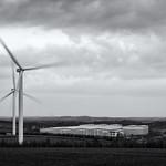 Park Spring Wind Farm & Business Park, 30-3-2019 (IMG_5240) Nik SEP2 Wet Rocks Selenium 4k