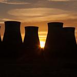 Ferrybridge Power Station Silhouette