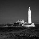 Whitley Bay - St Mary's Lighthouse & Causeway, 12-4-2019 (3R0A5603) Nik SEP2 - Underexposed EV-1 4k