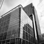 Canary Wharf - Citibank Buildings, 13-4-2019 (IMG_5591) Nik SEP2 Fine Art Process 4k