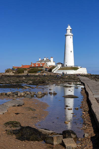 Whitley Bay - St Mary's Lighthouse & Causeway, 12-4-2019 (3R0A5607) 4k