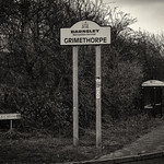 Grimethorpe - Village Sign, 26-1-2019 (IMG_3702) Nik SEP2 High Str Harsh Sepia 1 4k